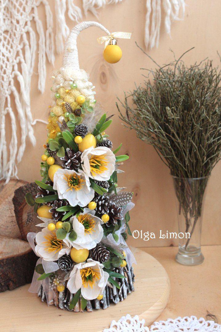 Ольга Лимон. Топиарий, елки, цветы, магниты
