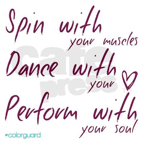 Color guard quotes, Color guard and Sayings on Pinterest