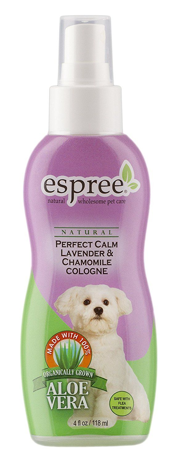 Espree Animal Products Perfect Calm Lavender Cologne, 4 oz (118 ml) *** Remarkable product available now. : Dog Training and Behavior Aids