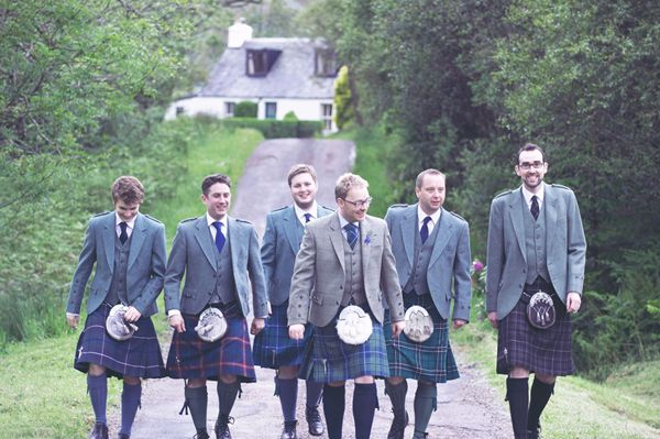 Quaint Scottish Wedding