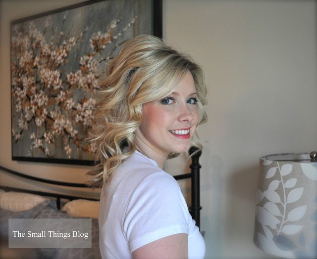Fantastic medium length curling wand tutorial - best How to do i have found!
