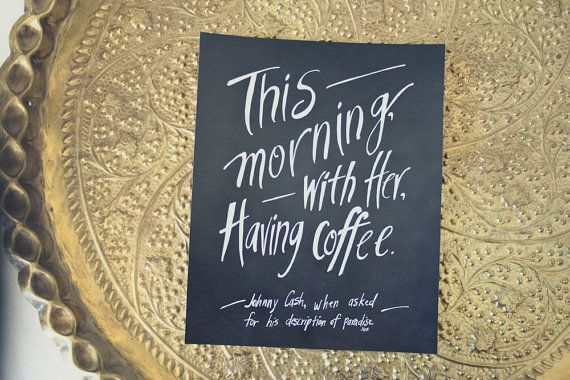 This Morning With Her Having Coffee, by heytheredesign, $18.00 - my favorite print I've made, EVER.
