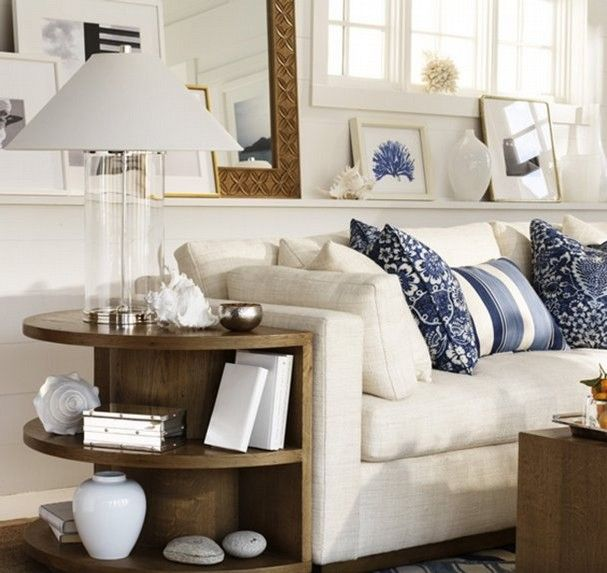 The Ralph Lauren Home Driftwood Collection Features Textured Fabrics And Natural Wood