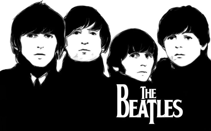The Beatles Paint Poster Hd The Beatles Pinterest