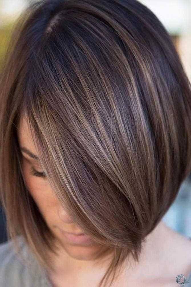 Neu Bob Haarschnit Stil Trend Frisuren Bob Frisur Und Kurze Braune Haare