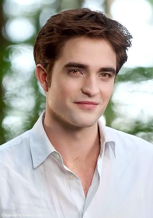 Edward Cullen as Robert Pattinson                                                                                                                                                      More