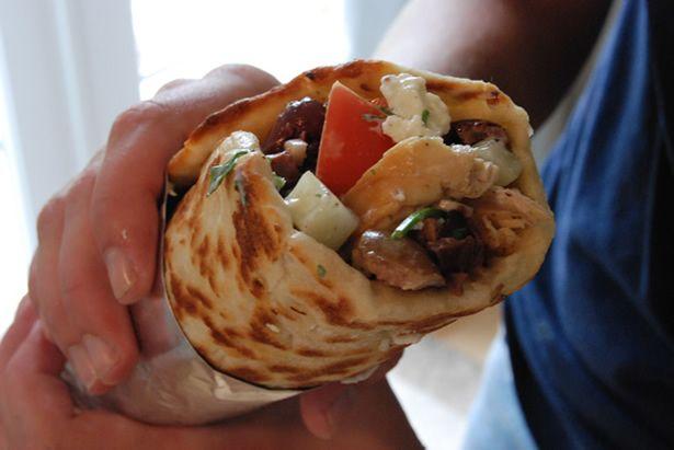 chicken gyro: Dinner, Recipes, Greek Food, Homemade Gyro, Gyro Recipe, Chicken Gyros, Greek Chicken