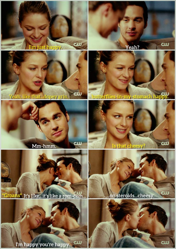 Kara and Mon-El: Sappy Romantic meets Recovering Cynic. I love seeing how Kara's idealism/optimism touches Mon-El in spite of himself, and Mon's realism grounds her/helps her relax. It's such a counterbalances thing: she shows him how to stay on the path, he shows her how to stop and smell the roses. |TV Shows|CW|#Supergirl edit|Season 2|2x16|Star-Crossed|Kara x Mon-El|#Karamel kiss edit|Kara Danvers|Melissa Benoist|Chris Wood|#DCTV|Favorite TV Couples|
