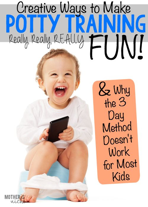 I am actually excited to potty train my kid now believe it or not!