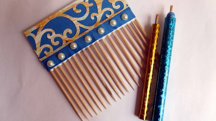 Handmade Slotted QuillingTool/ Handmade Quilling Comb/ DIY Quilling Acce...