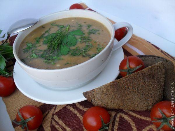 Суп-пюре с чечевицей | Рецепт | Чечевица, Суп пюре и Супы