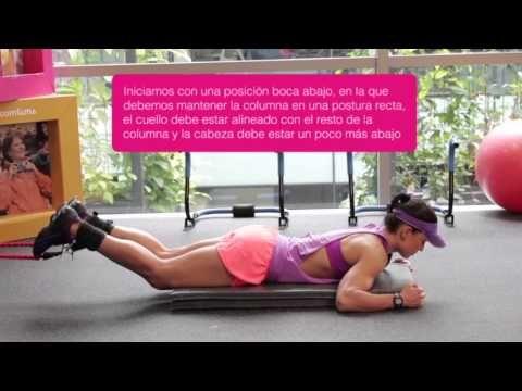 Comfama - Rutinas de ejercicios - Tren inferior - Flexión de rodilla