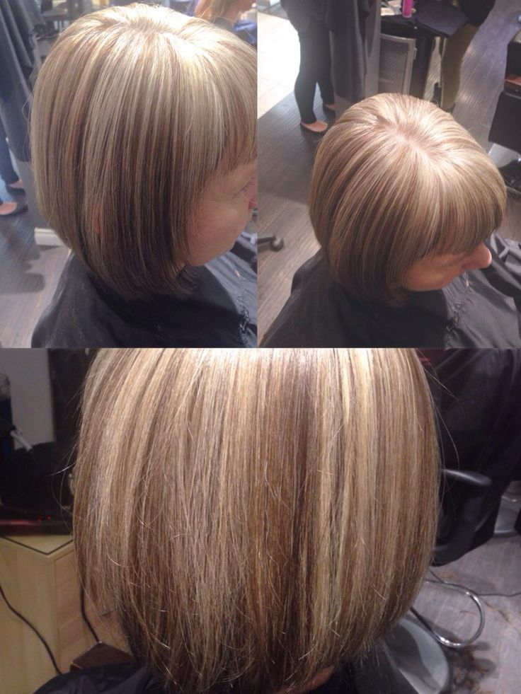 Hair By Wendy Growing Out Color To Work With Natural Grey