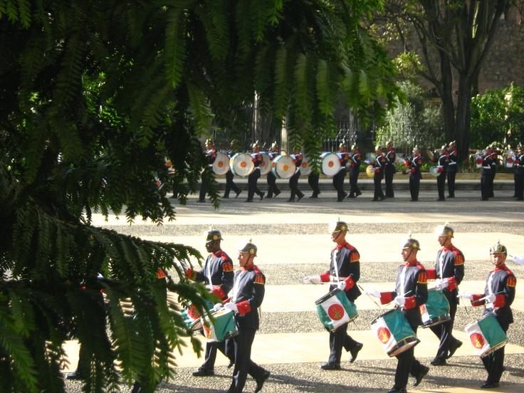 Centro de Bogota - Guardia Presidencial