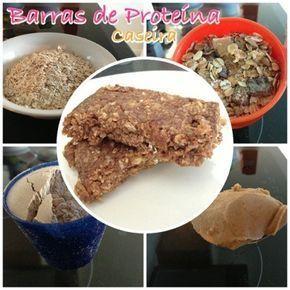 10 receitas de barras de proteina