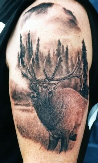 Hunting Tattoo Designs for Men   20 Great Hunting Tattoos