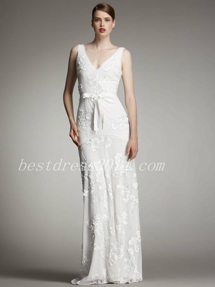 146 best simple wedding dress images on Pinterest | Groom attire ...