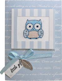 Ночная сова (S)P23, Luca-S, Праздничные открытки | интернет-магазин вышивки Stitch World