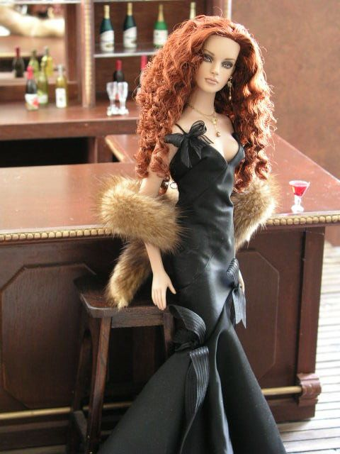 Beautiful redhead dolls with mad swag pinterest for A b mackie salon