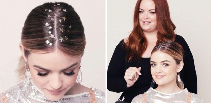 Tatuaggi per capelli a stella: l'acconciatura perfetta per le feste!