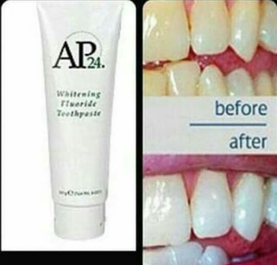 Just love this natural toothpaste that removes stains and whitens your teeth without peroxide or harmful abrasives!!
