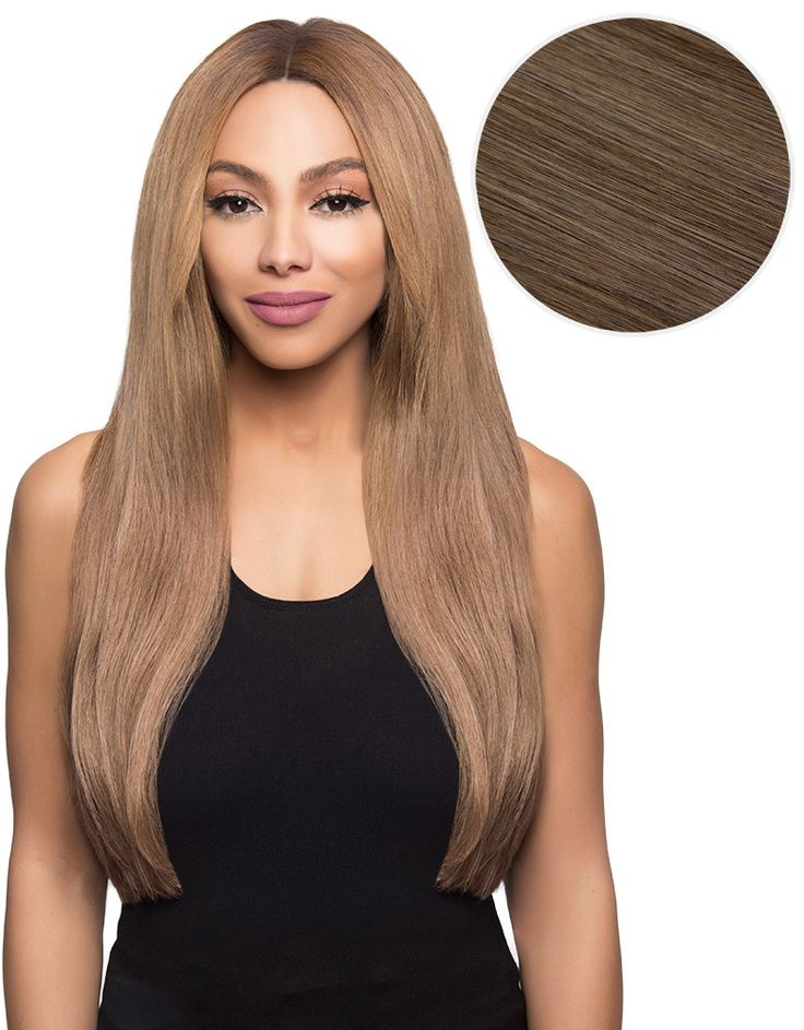 "Bambina 160g 20"" Ash Brown Hair Extensions (#8)"