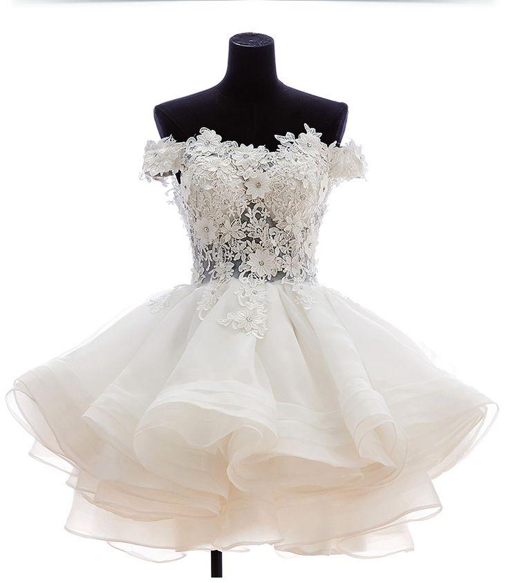 Best 25+ Short bridal dresses ideas on Pinterest | Vow renewal ...