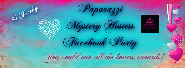 Paparazzi mystery hostess facebook cover photo paparazzi for How do you rob the jewelry store in jailbreak