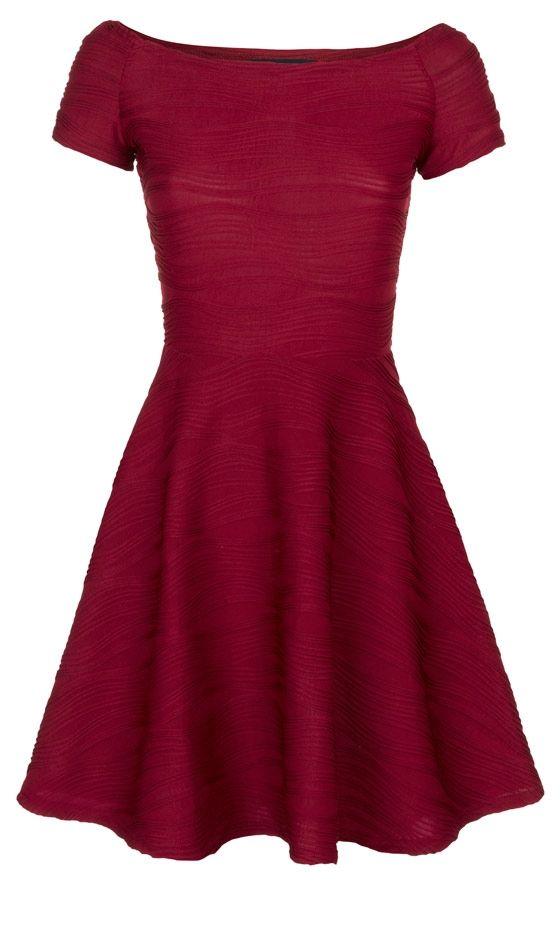 Primark Textured Skater Dress, £13