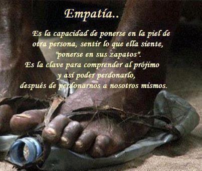 Empatia...