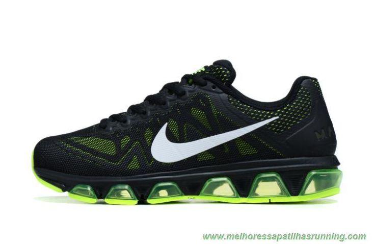 comprar tenis online Nike Air Max Tailwind 7 7056587-236 Mesh Preto / Fluorescent Verde Masculino