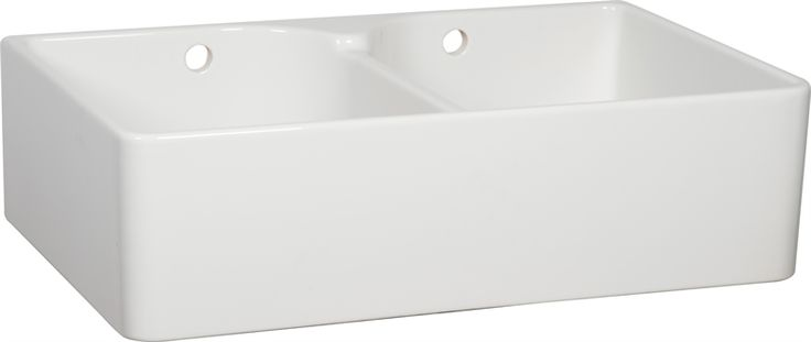 Neptune Sink : Neptune Kitchen Sinks - Neptune Ceramic Double Bowl Sink With Wastes ...