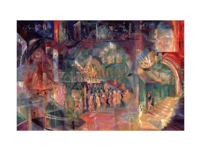 Futurism, Paintings and Prints at Art.com
