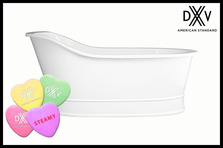 Bring casual country to your bathroom with our Oak Hill freestanding soaking tub. #pinittowinin #pintowin #valentinesday #contest http://bit.ly/1ROfLGW