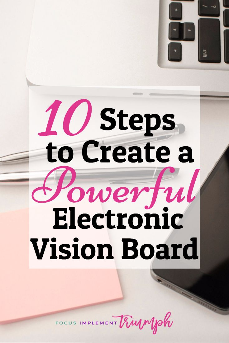 Achieve your goals and live life of your dreams by creating a powerful electronic vision board. In 10 steps you will use Stencil to create a digital vision board that can be saved to your cell phone.