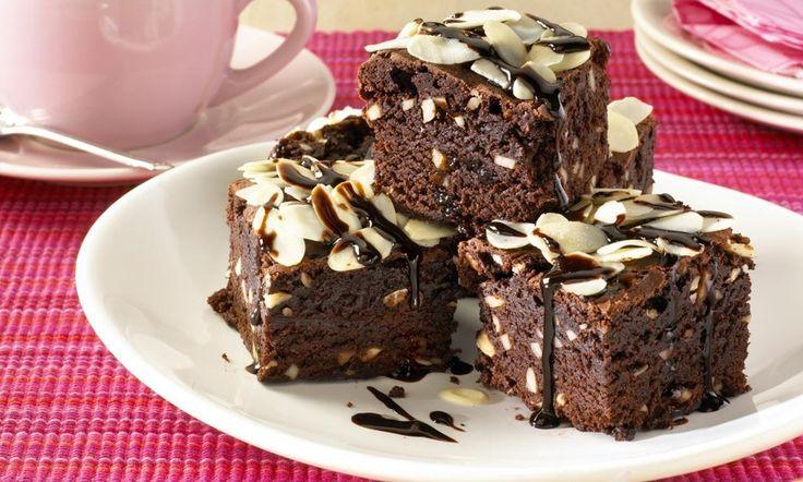 Chocolate brownies recept   Dr. Oetker