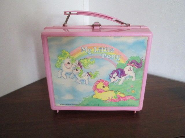 1985 My Little Pony Pink Plastic Lunch Box ALADDIN Vintage  RARE!  | Toys & Hobbies, TV, Movie & Character Toys, My Little Pony | eBay!