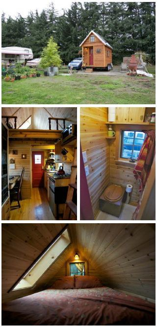 Tiny house in oregon on wheels it was a big deal when for Small houses oregon
