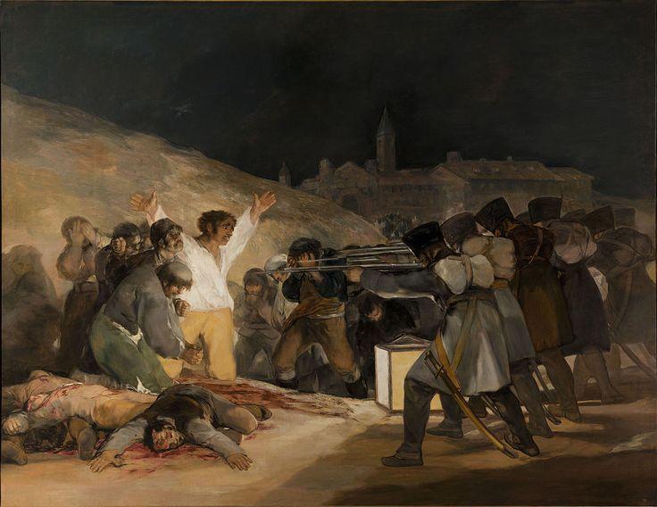 The Third of May 1808 (also known as El tres de mayo de…