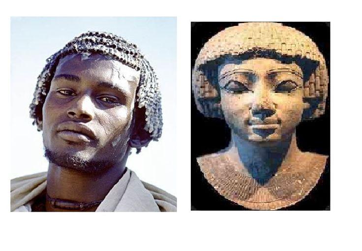 Cabelo Amanteigado -  Etíope e Antigo Kemita