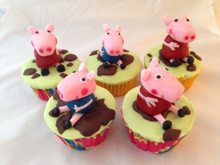 Peppa pig & friends cupcakes & figurines