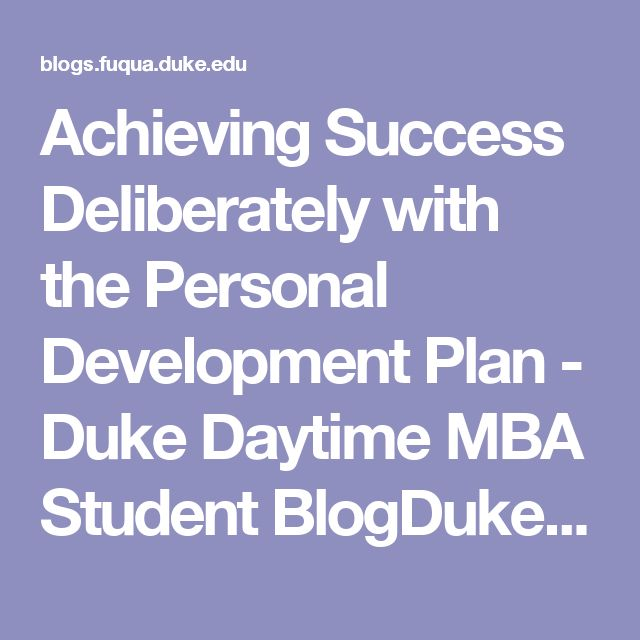Achieving Success Deliberately with the Personal Development Plan - personal development plan sample