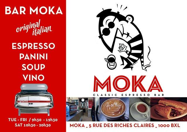 Bar Moka Brussel