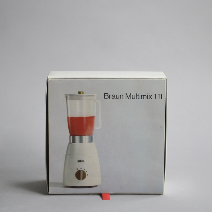 Braun MX 1 111 multimix, Designed by G. A. Müller, 1967