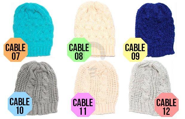 Beanie Hat atau kata lainnya topi kupluk sebagai penghangat sekaligus stylish untuk kamu. Rp35.000