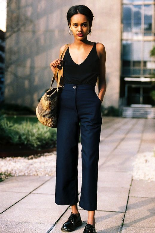 How To Start Transitioning Your Cropped Pants To Fall
