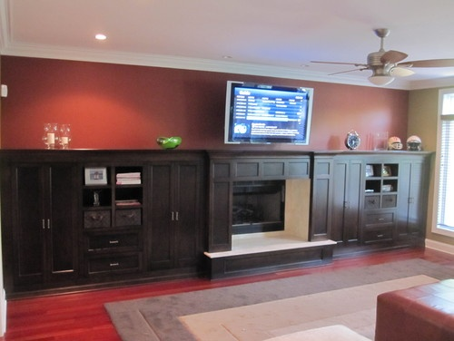 Best BuiltIn Entertainment Centers Images On Pinterest Built - Built in cabinets entertainment center design pictures remodel