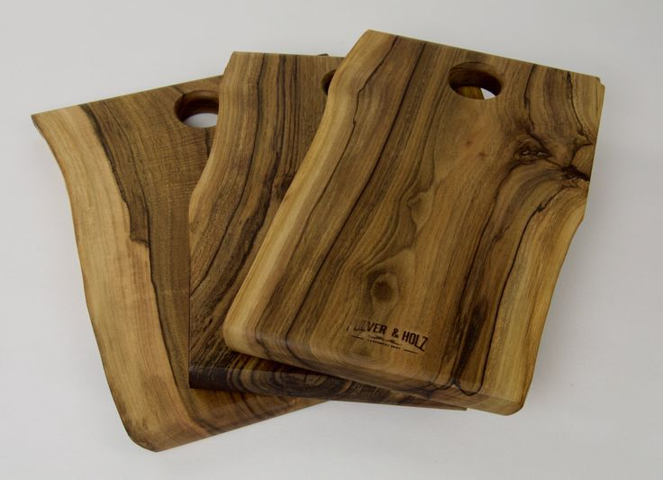 Wooden walnut vintage boards /Rustic serving boards /Cheese boards /Gift by PulverandHolz on Etsy
