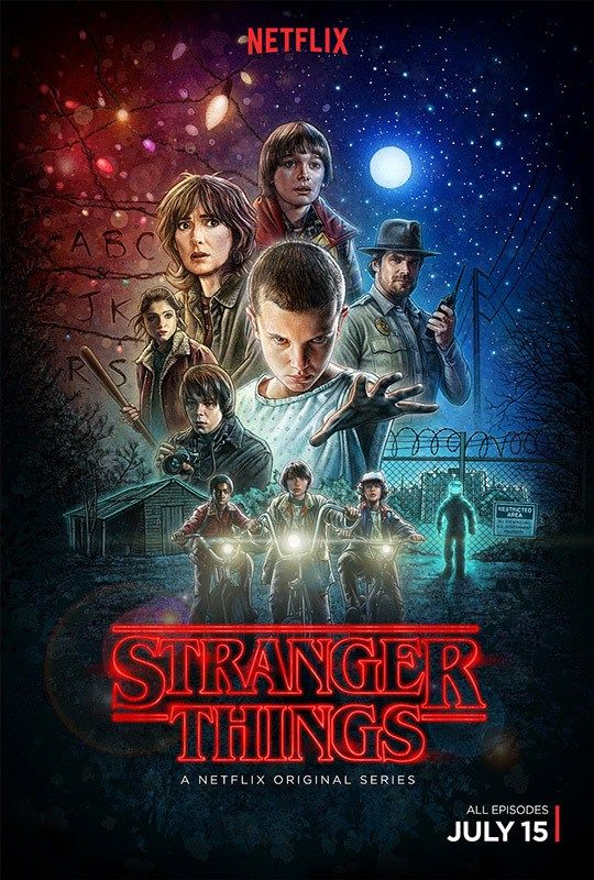 El cartel de Stranger Things fue creado con el iPad Pro y el Apple Pencil