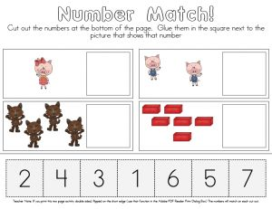 The Three Little Pigs – {Mini-Activity Pack}